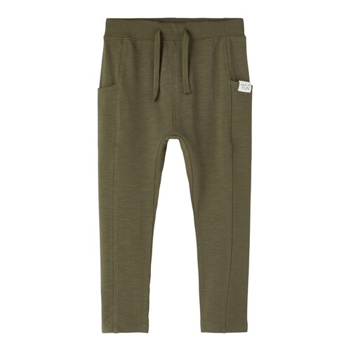 NAME IT - Fajan - Light Sweat Pant - Ivy Green